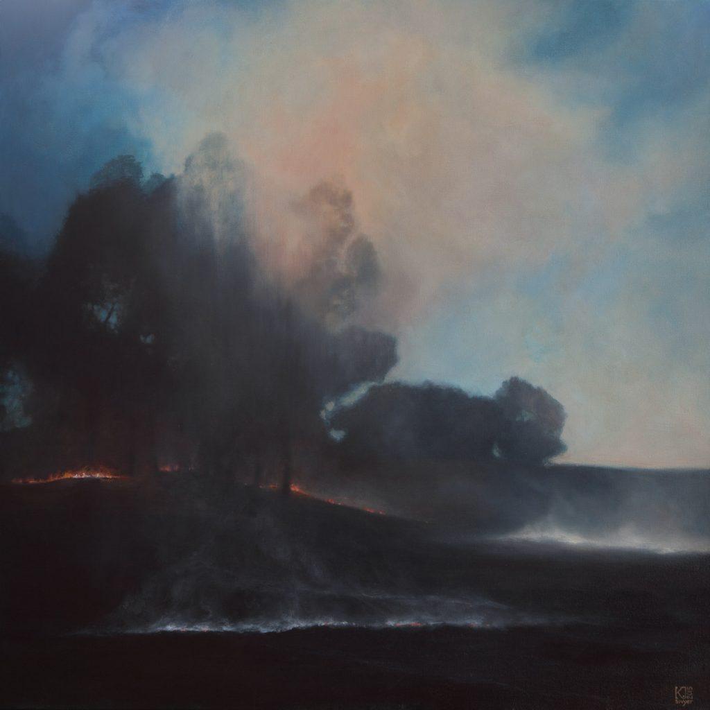 Kirsten Sivyer fine artist painter WA-1815