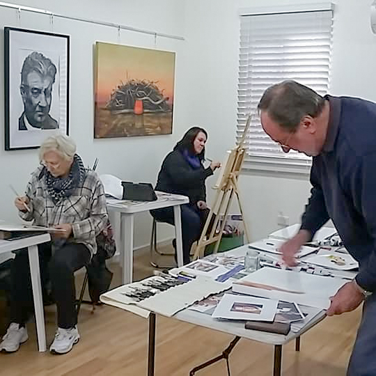 Acrylic painting classes Albany WA