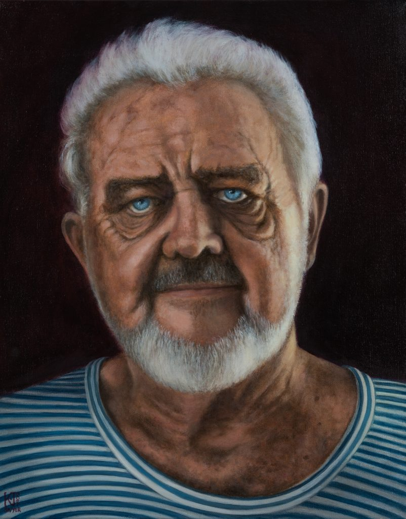 portrait commission oil painting perth albany wa Kirsten Sivyer