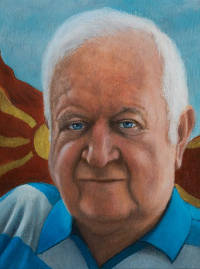 portrait commission oil painting